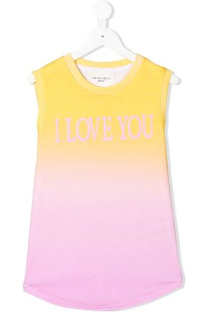Alberta Ferretti I Love You tank top