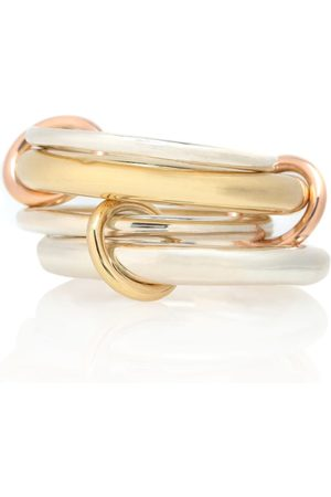 SPINELLI KILCOLLIN Women Rings - Cici 18-karat , rose and sterling silver linked rings