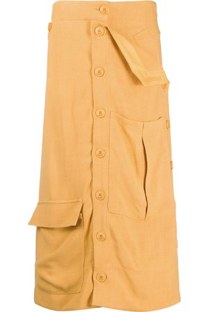 Jacquemus Button-up midi skirt