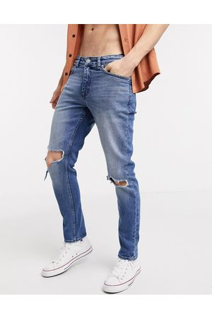 New Look Skinny ripped knee jeans in