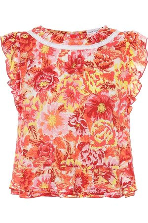 POUPETTE ST BARTH Printed top