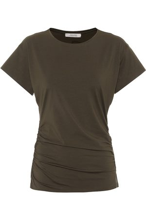 Dorothee Schumacher Fascinating Drapes stretch-jersey T-shirt