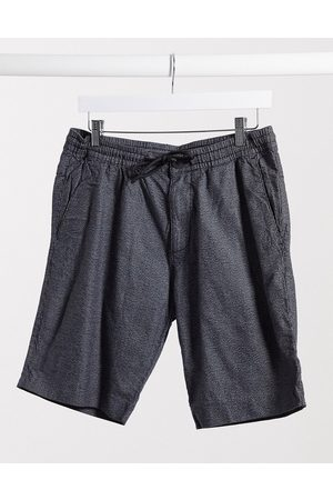 TOM TAILOR Chino shorts with drawstring waist in dark grey