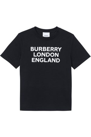 Burberry Logo Print Cotton Jersey T-shirt