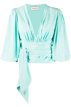 ALEXANDRE VAUTHIER Tie around blouse