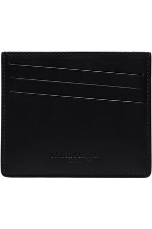 Maison Margiela Four-stitch leather cardholder