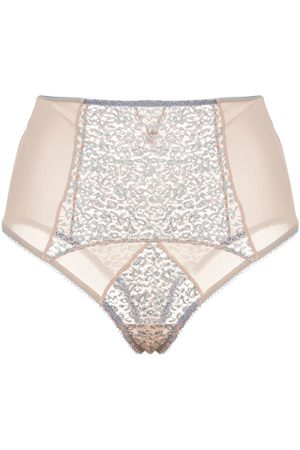 Kiki de Montparnasse Tiger Lily high-rise briefs