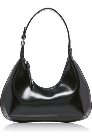 By Far Baby Amber Patent Leather Shoulder Bag