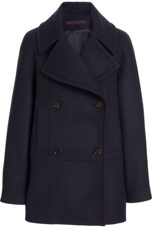 MARTIN GRANT Double-Breasted Wool Coat