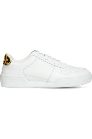 VERSACE 20mm Leather Sneakers