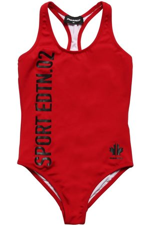 Dsquared2 Sport Printed One Piece Swimsuit
