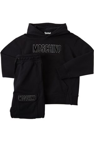 Moschino Cotton Sweatshirt Hoodie & Sweatpants