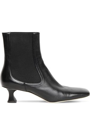 Proenza Schouler 50mm Leather Ankle Boots
