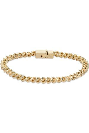 """TOM WOOD Rounded Curb Thick Bracelet 7.7"""""""