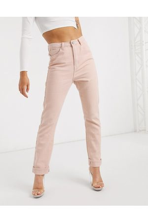 Missguided Mom jean in blush