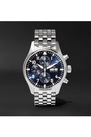 IWC SCHAFFHAUSEN Men Watches - Pilot's Le Petit Prince Edition Chronograph 43mm Stainless Steel Watch, Ref. No. IW377717