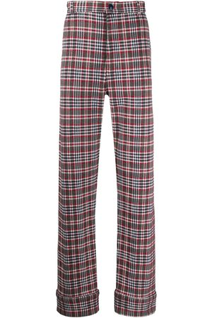 Marni Check tailored trousers