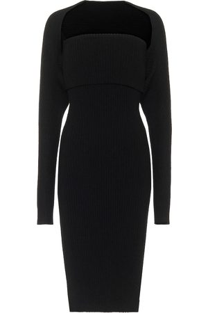 Bottega Veneta Ribbed-knit midi dress