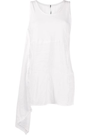 MASNADA Draped panel tunic