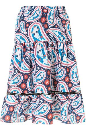 BAPY BY *A BATHING APE® Gathered paisley print skirt