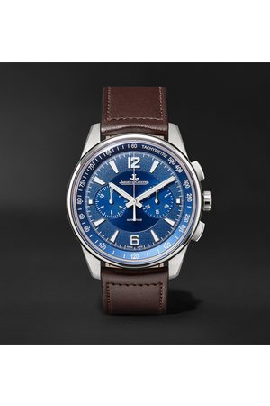 Jaeger-LeCoultre Polaris Automatic Chronograph 42mm Stainless Steel and Leather Watch, Ref. No. 9028480