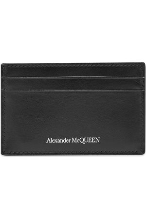 Alexander McQueen Leather Logo Card Holder