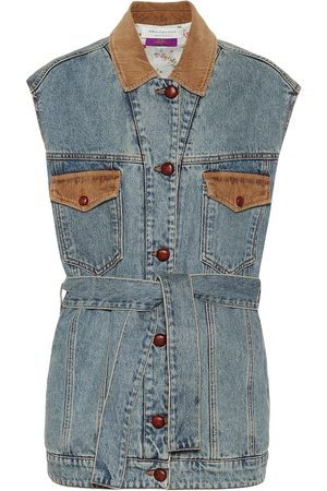 Serafini Cotton-denim vest