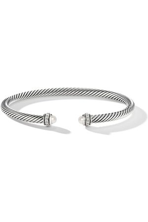 David Yurman Diamond pearl cable bangle