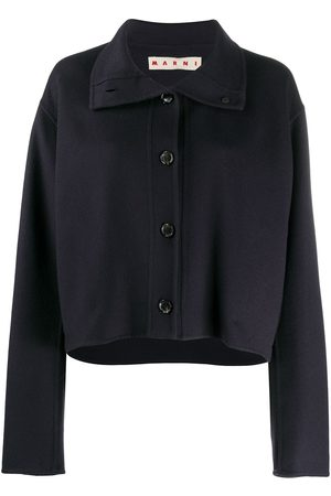 Marni Cropped buttoned jacket