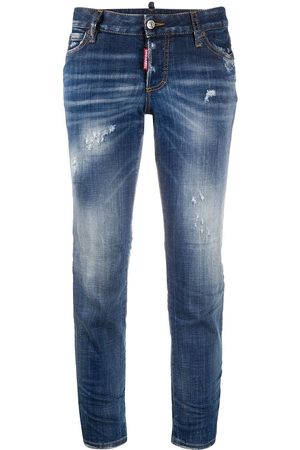 Dsquared2 Distressed low-rise jeans