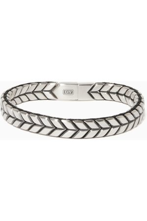 David Yurman Women Bracelets & Bangles - Chevron Woven Sterling Bracelet