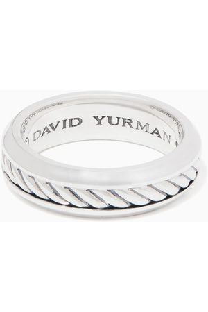 David Yurman Cable Inset Band Ring