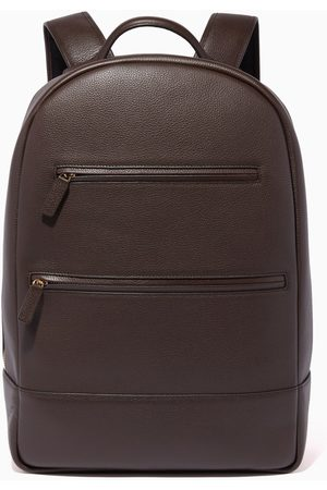 MONTROI Leather Signature Backpack