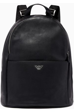 Emporio Armani Luxor Fast Leather Backpack
