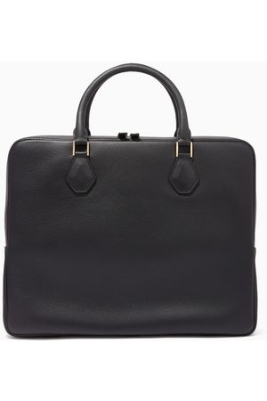 MONTROI Warfield Single Leather Briefcase