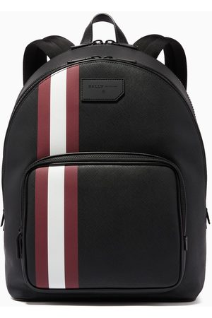 Bally Sarkis Coated Canvas Backpack