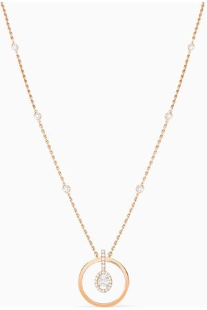 MESSIKA Glam'Azone Graphic Diamond Necklace in 18kt Rose
