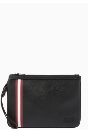 Bally Bex Coated Canvas Clutch Bag