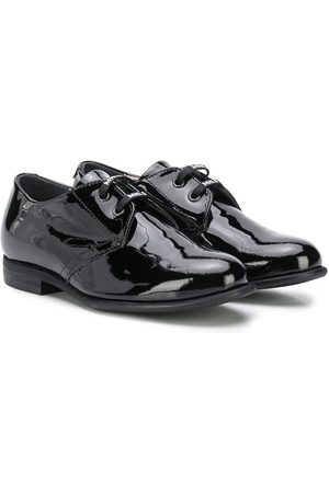 MONNALISA Boys Loafers - Patent lace-up shoes