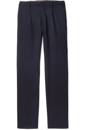 Loro Piana Virgin Wool-Blend Drawstring Trousers