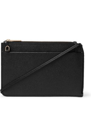 VALEXTRA Men Wallets - Full-Grain Leather Pouch