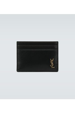 Saint Laurent Leather cardholder