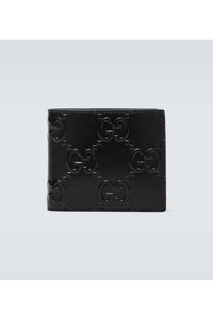 Gucci Embossed GG leather wallet