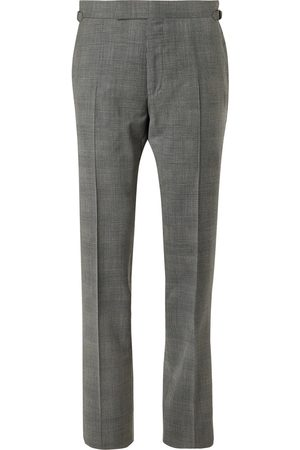 Tom Ford O'Connor Prince of Wales Checked Wool-Blend Suit Trousers