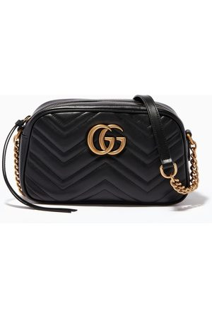 Gucci Women Shoulder Bags - Leather Small GG Marmont Shoulder Bag