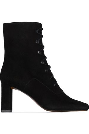 By Far Claude lace-up ankle boots