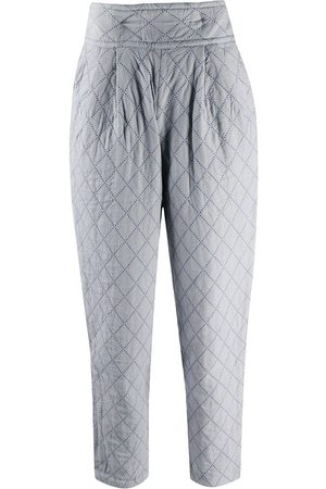 Issey Miyake 1970s padded tapered trousers
