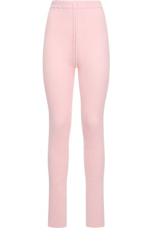 MARQUES'ALMEIDA Viscose Blend Knit Sweatpants