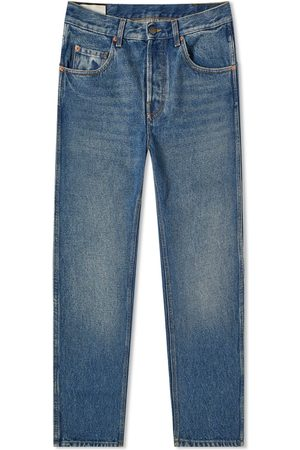 Gucci Tapered Fit Washed Jean