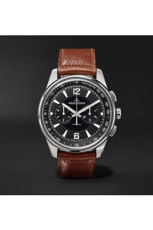 Jaeger-LeCoultre Men Watches - Polaris Automatic Chronograph 42mm Stainless Steel and Leather Watch, Ref. No. Q9028471